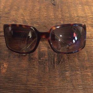 Coach sunglasses with white case